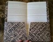 Midori/fauxdori folder with 2 pockets