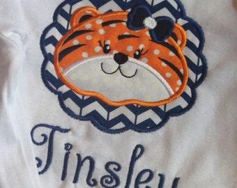 Monogrammed AuburnFootball Shirt, War Eagle shirt