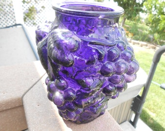 Dark Purple Goofus Vase