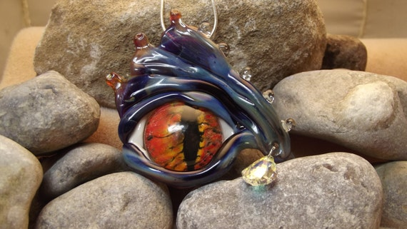 Dragon Eye-  All Glass Lampwork
