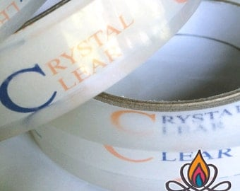 "3/4"" Crystal Clear Protection Tape - Roll, 55yards (165feet), 3.6mil Thickest Available for Greatest Protection."