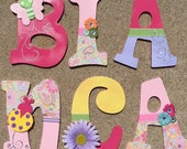 Butterfly Wood Letters, P...