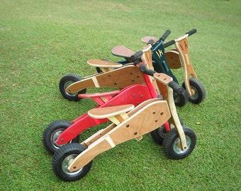 Wooden balance bike / Toddlers bike