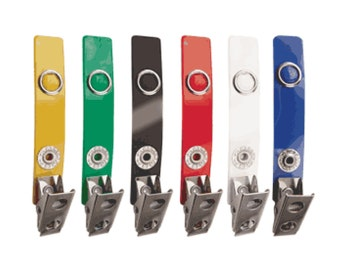 ID Badge Strap Clip (Various Colors)