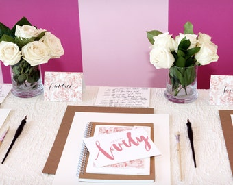 Calligraphy Class in Dallas (Plano) Texas Learn Calligraphy Modern Calligraphy Teacher