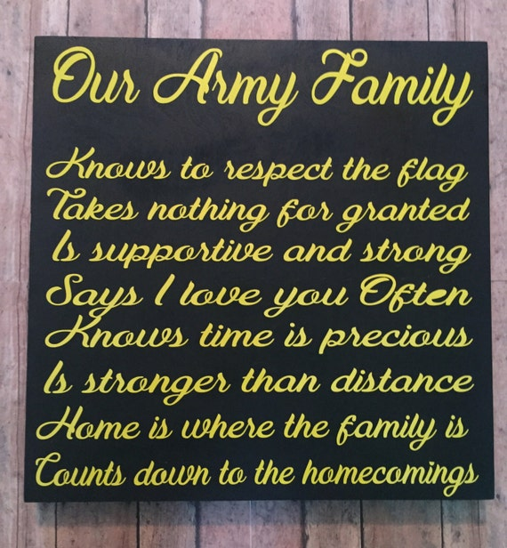 Army Family Military Home Decor Gifts Forrhetsy: Army Home Decor At Home Improvement Advice