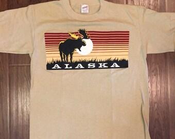 Vintage 1980s Alaska T-Shirt
