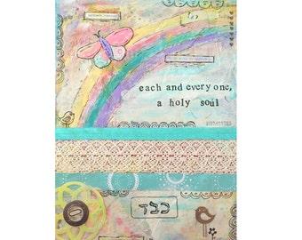 "9x12 print - ""Each a Holy Soul"" artwork"