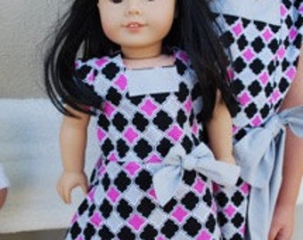American Girls Doll Party Dress
