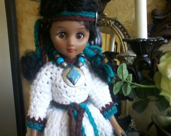 American Indian Princess Doll