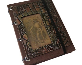 20,000 Leagues Under the Sea Themed  Journal/ Sketchbook/ Memory Keeper