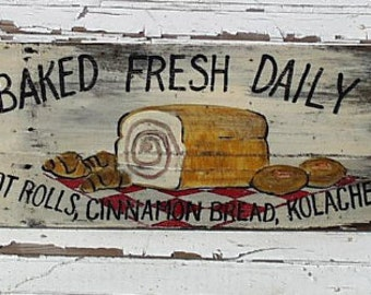 Bread Bakery Sign...Customize It