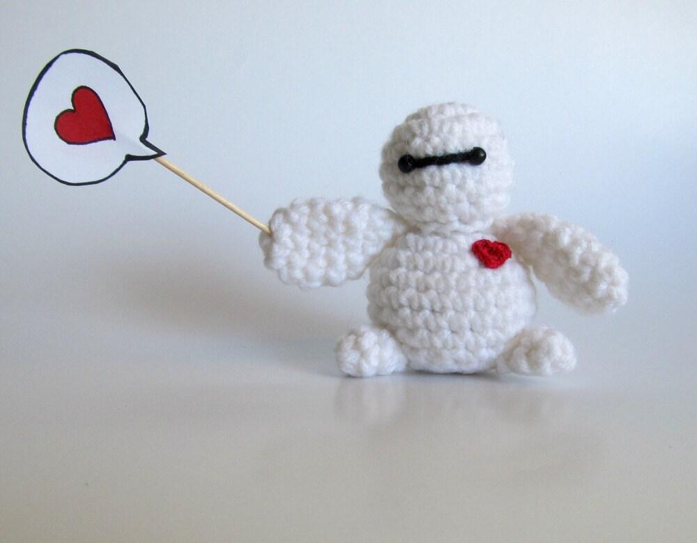 PATTERN Crochet Baymax Big Hero 6 Amigurumi by JessesMomus