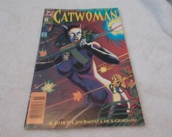 Vintage Comic Book-Catwoman No 4-Nov 1993