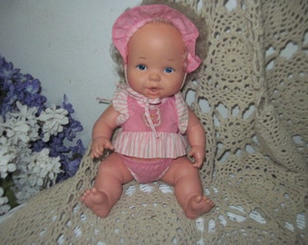 Mattel Bottle Time Baby Doll 1984 Girl Kids Toys:)S/ SALE  Coupon Code CLEARINGOUT25 Must Be used at check out can not change after paying