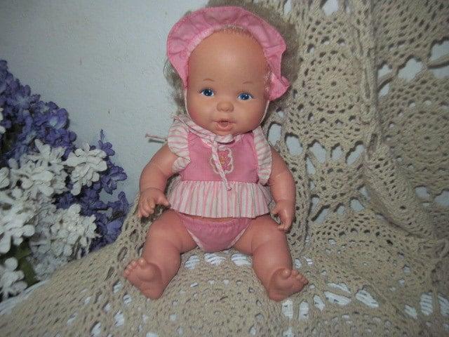 1984 Toys For Girls : Doll mattel bottle time baby girl kids toys