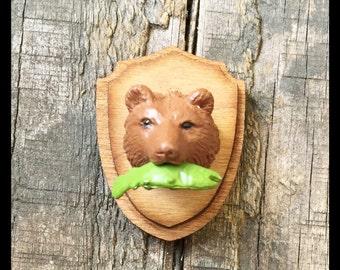 Bear Taxidermy Magnet