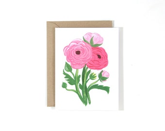 Floral Set 2 - SINGLE CARD
