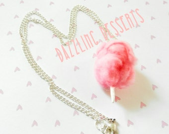 NECKLACE | Pink Cotton Candy