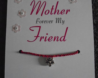 First My Mother Wish Bracelet (updated version)