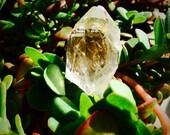 Quartz Crystal Point Ring