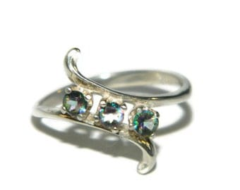 pear shaped promise ring by jewelrybydecember67 on etsy