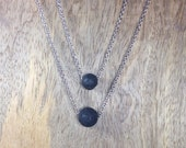 003. Fluid ~ Lava Aromatherapy Diffuser Necklace for Essential Oils