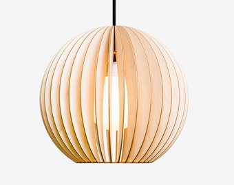 AION wood lamp, birch natural
