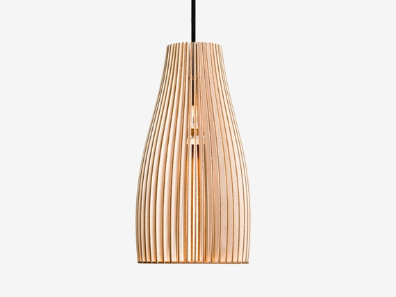 ENA wooden light, wood lamp, spot light, wooden lampshade