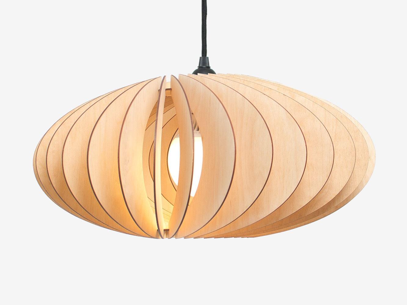 lampe pendante nefi de bois de suspensions de lampes. Black Bedroom Furniture Sets. Home Design Ideas
