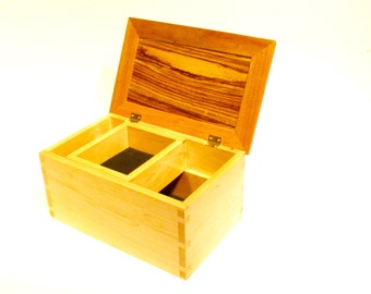 Dovetailed Jewelry Box