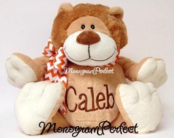 Personalized Plush Lion Stuffed Animal Soft Toy