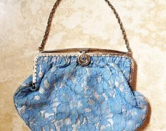 Vintage Lace Evening Bag
