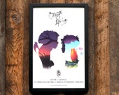 Death Loves Life Poster - Lovers' Profile