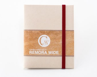 Ultra Light Wallet REMORA WIDE / Ivory&Red