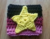 Garnet Inspired Crochet Coffee Cozy - Coffee Sleeve - Steven Universe Inspired - Wristband