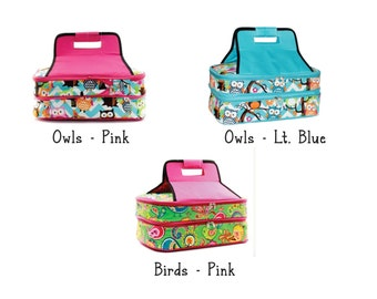 Personalized Casserole Carrier - Novelty Patterns - Monogrammed Casserole Carrier - Owl Casserole Carrier - Bird Casserole Carrier
