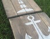 Rustic Nautical Art - Set of 3