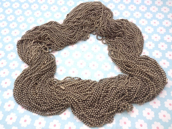 68 Antique bronze Ball  Chain Necklaces - 18inch, 2.0mm