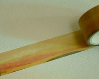 1 Roll of Japanese Washi Masking Tape- Sunset