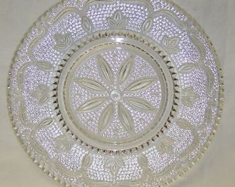 Federal Glass Crystal HERITAGE 9 1/4 Inch Dinner Plate