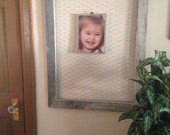 Distressed Memory wire frame