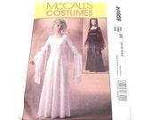 Renaissance Dress Pattern, Gothic Dress, Medieval Dress, McCalls 4889, Uncut, Size 14 16 18 20