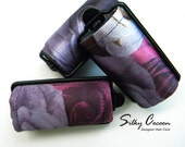 Rose Print Foam Hair Roller Covers 6 Jumbo or Set of 12