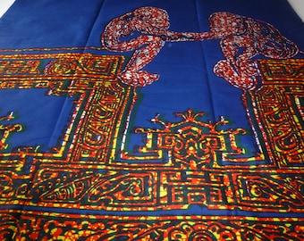 African Fabrics Block Wax Print Sold By Yard 151270377020
