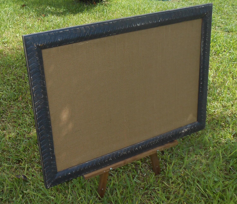 Xl Framed Bulletin Board Vintage Frame Cork Board Large