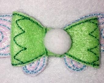 Fairy felt Hair Bow - 2 inches