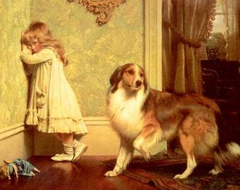 A Special Pleader by Charles Burton Barber...FREE shipping east of the Mississippi