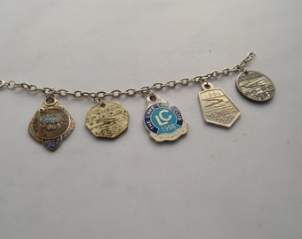 Vintage car badge bracelet