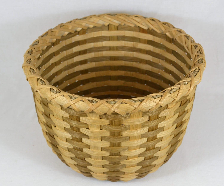 Basket Weaving Name : Basket weaving pattern makayla triple lashed round